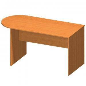 Kancelársky stôl s oblúkom TEMPO AS NEW 022 Tempo Kondela Čerešňa