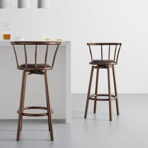 Barová stolička Fabio Hnedá