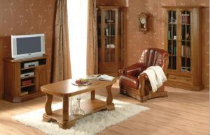 PYKA Kinga rustikálna obývacia izba drevo D3