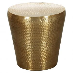 Príručný stolík VIKRAM zlatý