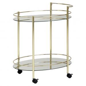 servírovací stolík Wl6.007 Zlatý