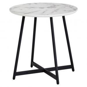 Príručný stolík Vzhľad Mramoru
